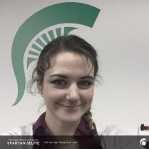 Kristen Miller Sparty Helmet App Logo